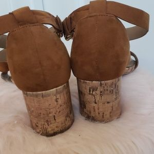 Parker and Sky Shoes - Brown wedges